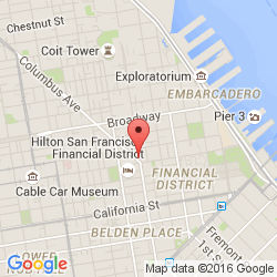 PCAD Metropolitan Theatre Financial District San Francisco CA - San francisco map financial district
