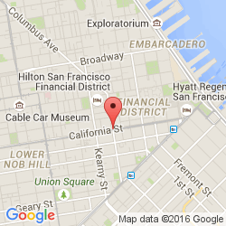 PCAD California Safe Deposit Building Financial District San - San francisco map financial district