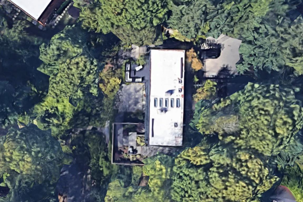 Pcad Satellite View Of The Robert Zech House Mercer Island Wa